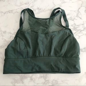 Lululemon high neck mesh sports bra
